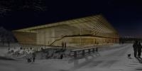 Espace presse pour le championnat du monde de ski (Schladming, 2009)