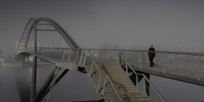 Passerelle des Trois Pays (Weil-am-Rhein (D) - Huningue (F), 2007)