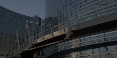 Passerelle Valmy (Paris - La Défense, 2008)